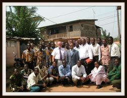 Pastorskonferens i Porto Novo Benin.