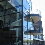 Gullbergvass, Ombyggnad kontor