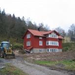 Lindome, Nybyggnad villa