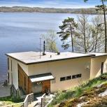 Aspenäs, Nybyggnad villa