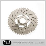 Sprocket brake rotor 46 teeth