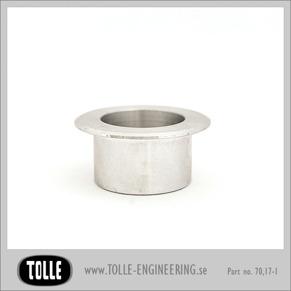 Gas cap socket, aluminium - Gas cap socket
