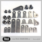 25 piece bracket kit