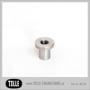 Tophat Blind Threaded 3/8 UNF Stainless - Tophat Blind Threaded