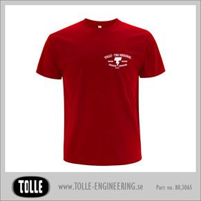 T-shirt  the original - Medium Red