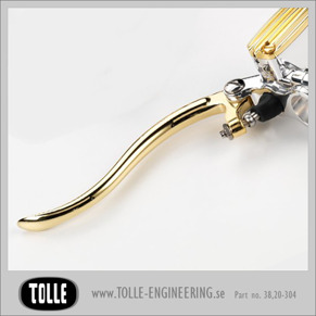 K-TECH DELUXE replacement clutch/brake cylinder lever - K-TECH DELUXE replacement clutch/brake cylinder lever. Polished