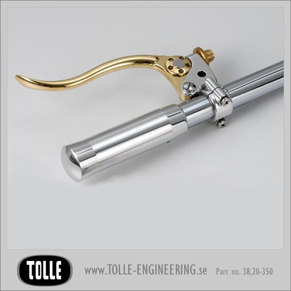K-TECH DELUXE Clutch lever assemblies - K-TECH DELUXE Clutch lever assemblies. Polished