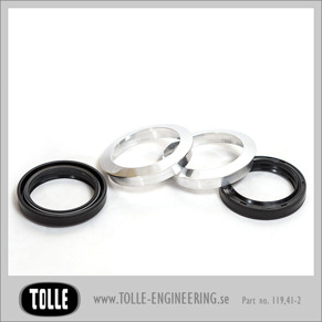 Dust covers with oil seals / Tolle - Dust covers with oil seals / Tolle