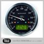 Motogadget Chronoclassic Speedo - mst Motogadget Chronoclassic Speedo Green LCD/Black anodized/Polished ring