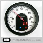 Motoscope tiny - 49 mm Analog Speedo