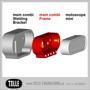 Motoscope msm Combi Stainless Steel Weld-in Cup
