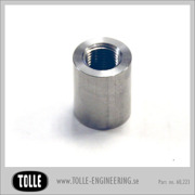 Threaded bung 3/8x24 Stainless