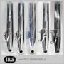 Caliper bracket Tolle fork HD 00-up 11,5'' Left