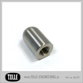 Threaded Bullet M 8  Stainless - Threaded Bullet M 8  Stainless