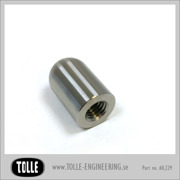 Threaded Bullet M 8  Stainless