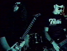 Sjöberg & Boder in the abandoned music video for the song Calling Cosmos.