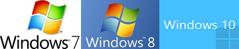 Anpassad för  Windows 7, 8 och 10