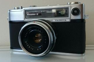 Gammal kamera Minister-D Yashica