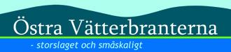 Logotyp för Östra Vätterbranterna.