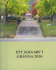 Bokomslag till Ett Solvarv i Gränna. En stentrappa leder upp till en gång kantad av träd.