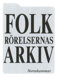 Logotyp Folkrörelsernas arkiv i Norrahammar.