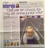 Intervju med Klüft 2001.