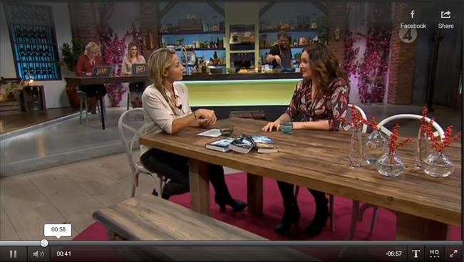 TV4 Vardagspuls 17 november 2015.