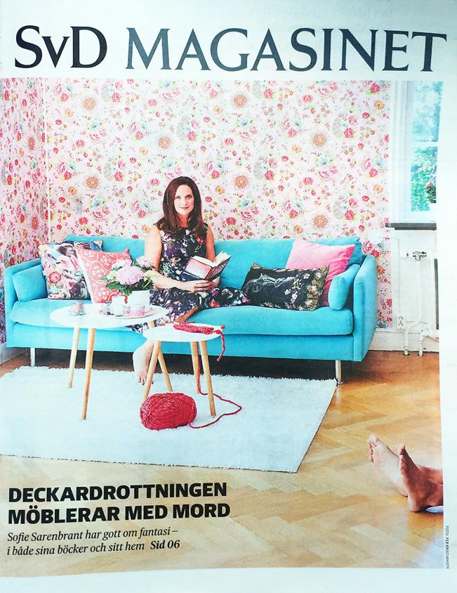 Svenska Dagbladet Magasinet 16 september 2016