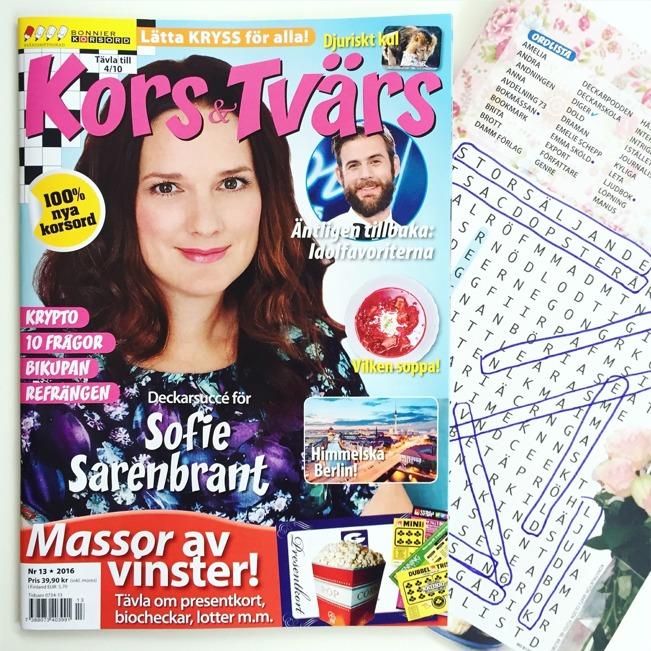 Kors & Tvärs, september 2016