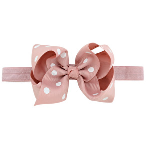 Lilly Bow Chic Dot plommon