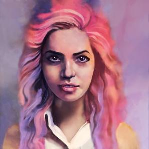 EvelinaFoxberg_pink hair