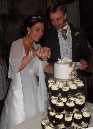 Wedding cake from Holy Sweet