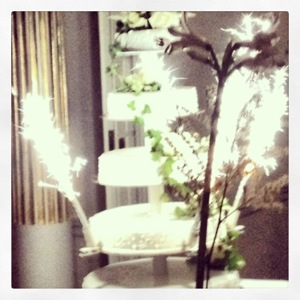 Wedding cake at the Grand Hotel, Stockholm