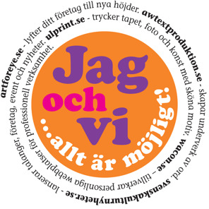 Vi som var på Mediamässan i Gävle hösten 2014.