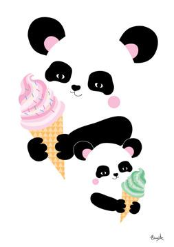 Pandan & glassen