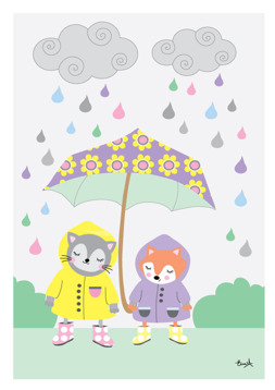 Paraplyet lila - REA 50 %