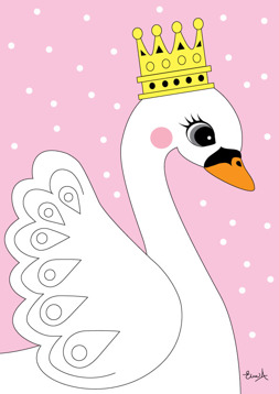 The swan - rosa