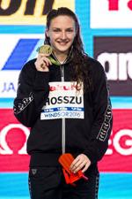 Katinka Hosszu, Ungern vann sju guld ioch tog två silvermedaljer på VM som avslutades i natt.