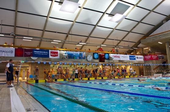 Tøyenbadet under NM i 2012. FOTO: Øyvind Thorsen/http://lsvk.zenfolio.com