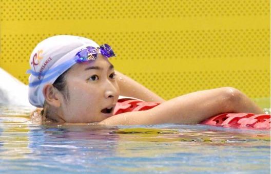 Ikee slog asitiskt rekord på 50m fritt - foto: KYODO / Japan Times