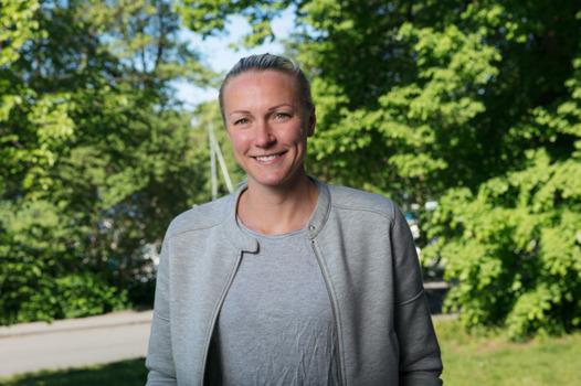 Sommar i P1 Sarah Sjöström, 25/6 Sommarvärd 2017 Foto: Mattias Ahlm/Sveriges Radio
