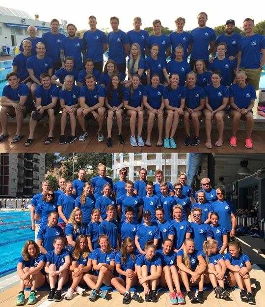 Östsvenska Simförbundet skickar en hälsning från Spanien, där de varit på gemensamt träningsläger under 10 dagar med 27 simmare (från 6 olika föreningar) på Mallorca och 35 simmare (från 8 olika föreningar) i Calella.