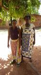Kamwenda charo and Zainabu Charo - Education in tailoring