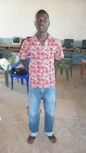 Michael Odhiambo - Studying at Nairobi University for a degree course in Surveying and Landscaping.