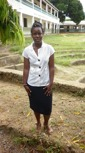 Violet Achieng - Graduated with a degree in nursing, employed by the Government the Level Five hospital at The Rift Valley.