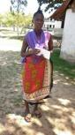 Saumu Safari - Undergoing a tailoring course