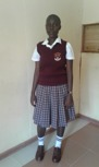 Juliet Akinyi - Undergoing a three and a half year university education for a degreein finance and banking.