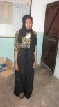 Fatuma Shee -Undergoing a two year education atMombasa Technical Institute for a diploma in supplies management.