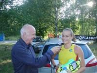 Carro intervjuas av Arne Hegerfors