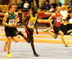 Amadou 2/100 från final